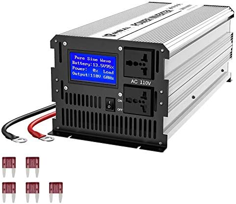 Anbull 3000W Pure Sine Wave Power Inverter DC 12V to AC 110V Car Power Inverter Converter Transformer product image