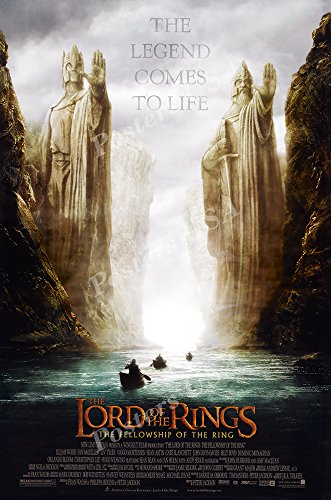 Posters USA - The Lord of the Rings The Fellowship of the Ring Movie Poster - MOV156 (24' x 36' (61cm x 91.5cm))