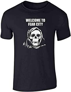 Welcome to Fear City Skull Short Sleeve T-Shirt