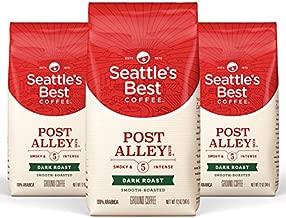 Seattle's Best Coffee Post Alley Blend Dark Roast Ground Coffee, 12 Ounce (Pack of 3)