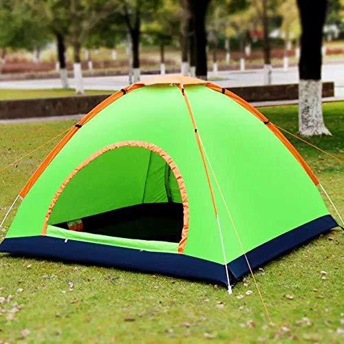 YHNM Tienda de Campaña 2-3 Personas, Game House Orange_79 '× 79' × 51 ',Camping o Festivales,Acampada,Familiar,Automático,Emergente Carpa,Refugio del Sol,Verano al Aire Libre