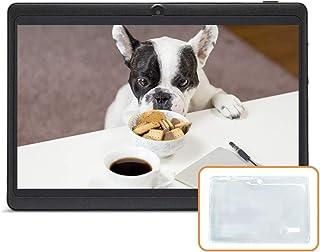 "JINYJIA 7"" Tablet PC, Google Android Tablet con Funda de Silicona Translúcida, Quad Core, Cámaras Duales, WiFi, Bluetooth,..."