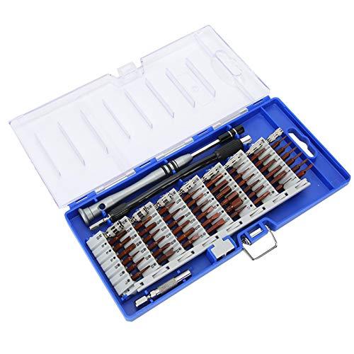 Kit de destornillador portátil, juego de puntas de destornillador duradero, kit de herramientas de relojero magnético Kit de destornillador de reparación para reparación de proyectos de