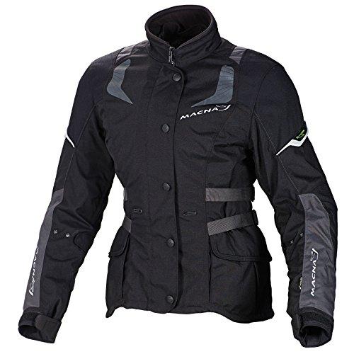 Macna Nova 3-in-1 Damen Motorrad Jacke schwarz XS - Motorradjacke