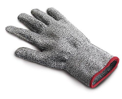 Cuisipro Schnittschutzhandschuh Reiben, Nylon + Spandex + HPPE + Polyester-Gewebe, grau, 26 x 12 x 1 cm