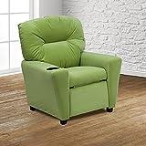 Flash Furniture FurnitureSeatingChairsRecliners, Avocado Microfiber