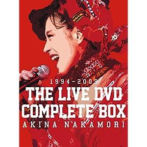 "中森明菜 THE LIVE DVD COMPLETE BOX"""