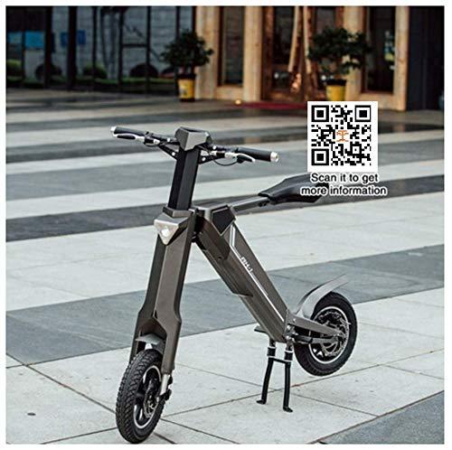 TZ® Bicicletas plegables de bicicleta eléctrica de 12 pulgadas + batería de...