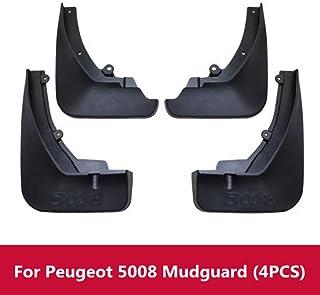 D28JD Car Guardabarros Splash Fender Accesorio de PVC Moldeado Mudflaps Adecuado para P-eugeot 4008 5008,5008