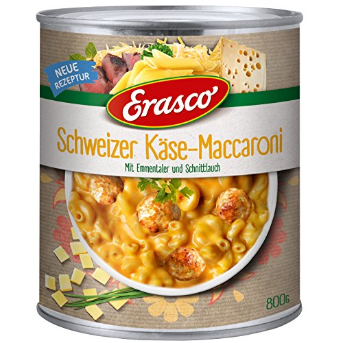 Erasco Maccaroni-Käse Topf, 2er Pack (2 x 800 g)