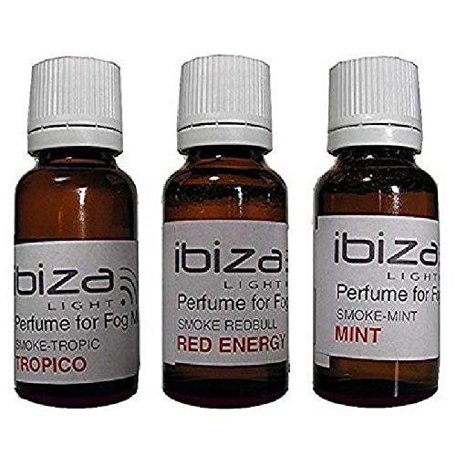3 Flaschen Parfüm für Rauchmaschine Fluid