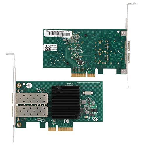 Sxhlseller Puertos LAN de Red Gigabit Adaptador Combinado de Tarjeta de Red Gigabit para servidores Adaptador de Almacenamiento de sobremesa