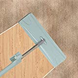 Cheshta Switch N Clean Non Hand Washing Microfiber Mop with Stainless Steel Handle
