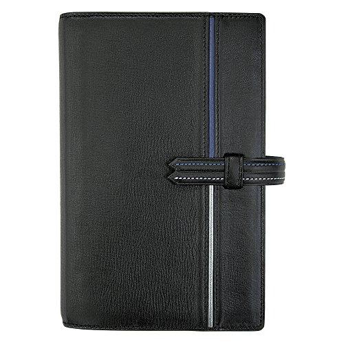能率バインデックスシステム手帳デュエバイブルネイビーBA97-1