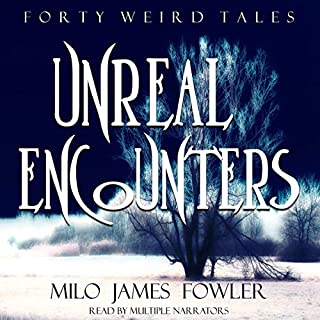Unreal Encounters audiobook cover art