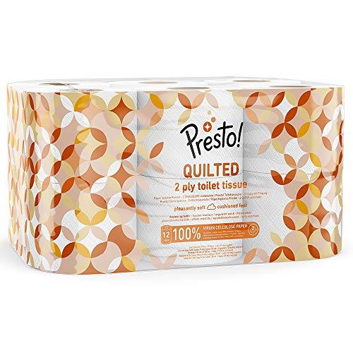 Amazon-Marke: Presto! 3-lagiges ECO Toilettenpapier, 36 Rollen (4 x 9 x 200 Blätter) - 2