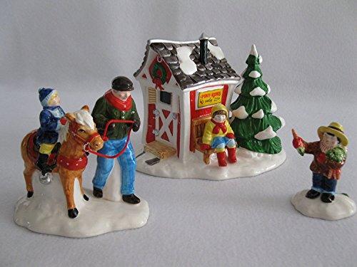 Dept 56 Original Snow Village Pinte Taille Poney Rides