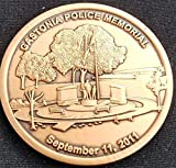 Gastonia North Carolina Police Department Memorial September 11, 2011 Police Challenge Coin