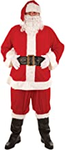 Wicked Costumes Adult Super Deluxe 8pc Santa Claus Suit Christmas Grotto Fancy Dress One Size