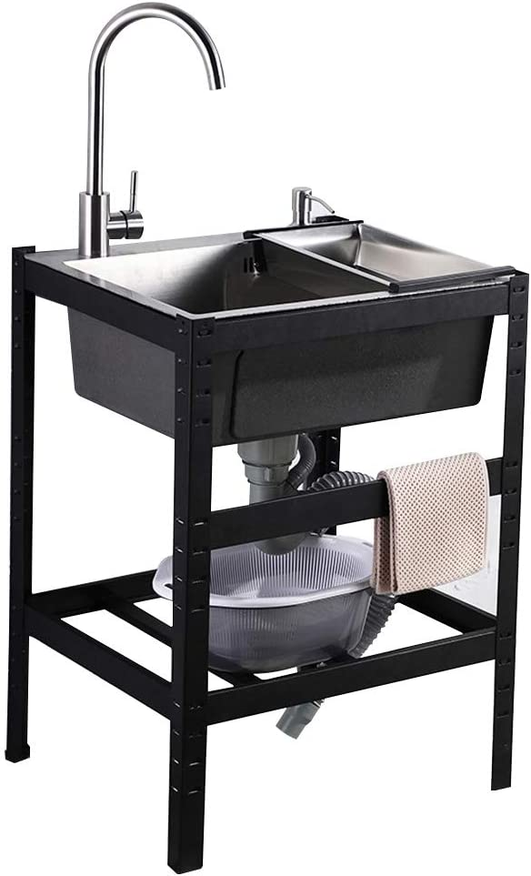 Single basin simple sink kitchen accesso Recommendation dining commercial Award-winning store