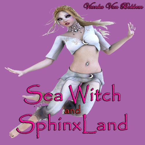 Sea Witch and SphinxLand audiobook cover art