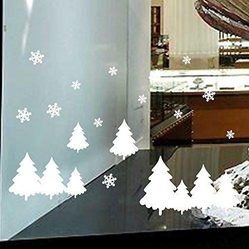 AMhomely Adhesivo decorativo para pared con texto en inglés 'Merry Christmas'