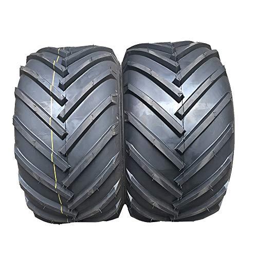 2 Stück 16 x 6.50-8 Tubeless Load Range B 4PR Rasenreifen 16 x 6.50-8 P328 Rasenmäher Traktor Golf Cart schlauchlose Reifen 16/6.5-8 16-6.5-8