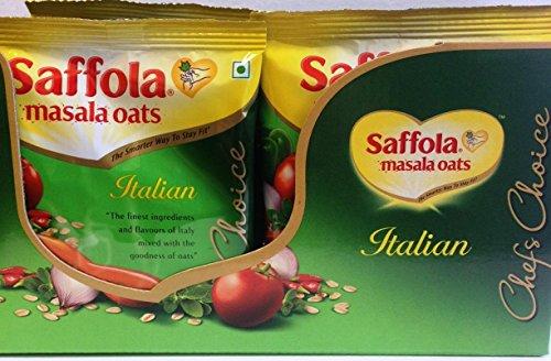 Saffola Masala Oats - Italian(Chefs Choice)- 39g x 12 Pack