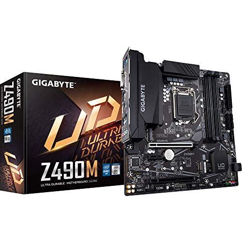 GIGABYTE Z490M, Intel Z490 Mainboard - Sockel 1200