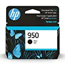 Original HP 950 Black Ink Cartridge   Works with HP OfficeJet 8600, HP OfficeJet Pro 251dw, 276dw, 8100, 8610, 8620, 8630 Series   Eligible for Instant Ink   CN049AN