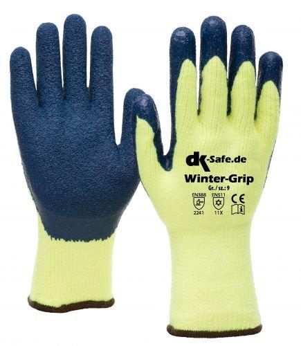 DK-Safe Winter-Grip 1603W Thermo-Winter Blocker Handschuhe Größe 11 (XXL) Herren groß