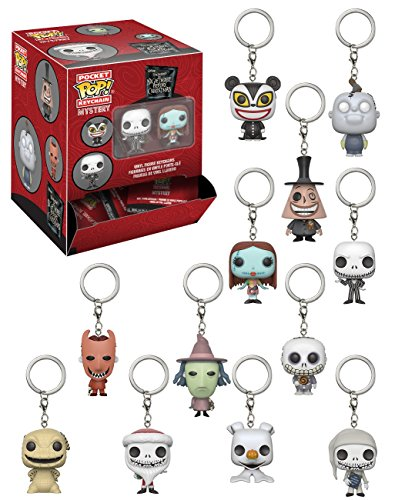 Funko 24316 The Nightmare Before Christmas - Mystery Keychains, Surtidos, 1 unidad 2