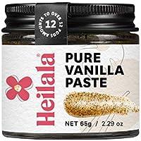 Pasta de Granos de Vainilla, 65g - Perfecta para hornear, Vainilla pura seleccionada a mano y de origen ético de Polinesia (Pure Vanilla Bean Paste)
