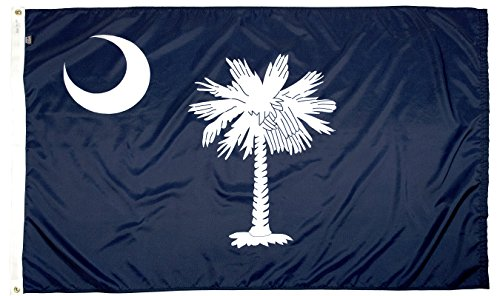 FlagSource South Carolina Nylon State Flag, Made in The USA, 3x5'