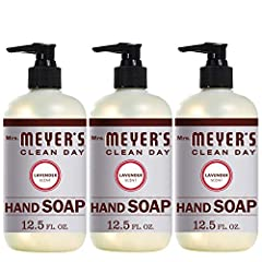 Hard-working, non-drying Lavender soap for busy hands Liquid hand soap made with essential oils, aloe vera, olive oil, and other thoughtfully chosen ingredients Garden-fresh Lavender has an original and clean floral scent Paraben free hand soap that ...