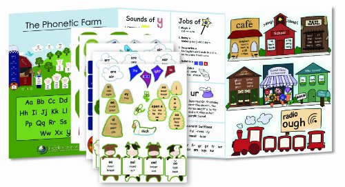 Primary Arts of Language: Phonetic Farm folder with Stickers