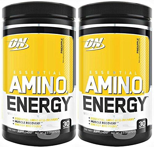 Optimum Nutrition Amino Energy 30 Servings Pineapple (Pack of 2)