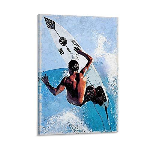 GOUWEI Andy Irons Surf Poster Cuadro decorativo Lienzo Arte Pared Sala Póster Dormitorio Pinturas 20x30 pulgadas (50x75 cm)