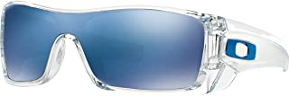 Oakley Batwolf Men's Lifestyle Casual Wear Sunglasses - Clear/Ice Iridium/One Size Fits All