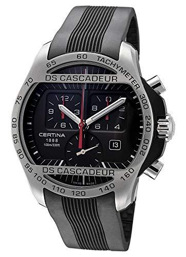 Certina DS Cascadeur C003.617.27.050.00 - Reloj de pulsera para hombre (cronógrafo, fecha, analógico, mecanismo de cuarzo)