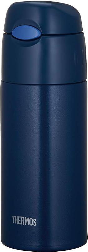 サーモス 水筒 真空断熱ストローボトル ネイビー 400ml FHL-401 NVY