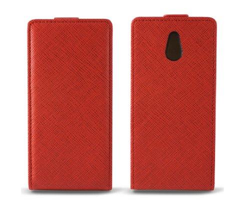 Ksix B3422FU90RJ - Funda con tapa para Sony Ericsson Xperia P Nypon...
