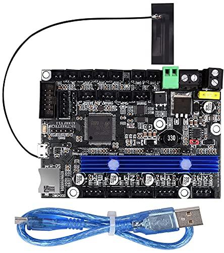 BIGTREETECH E3 RRF V1.1 para la placa de control de actualización Ender 3 Controladores UART TMC2209 integrados impresora 3d Marlin 2.0 RRF Soporte TFT35 E3 V3.0 BLTOUCH (módulo WiFi integrado)