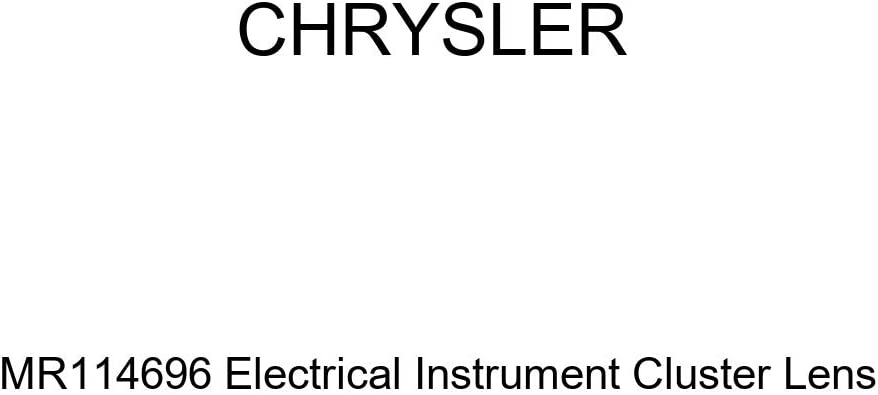 Genuine Chrysler Limited price sale MR114696 Electrical Cluster Instrument Directly managed store Lens