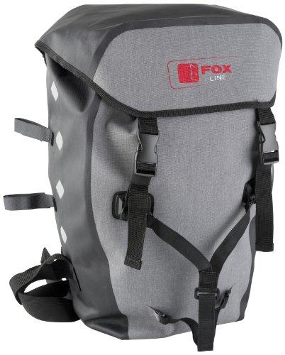 Fox Line Sac à Dos Multicolore Multi-Coloured - Grey/Black 33 x 16 x 55 cm