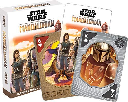 Star Wars The Mandalorian Playing Cards | 52 Card Deck + 2 Jokers