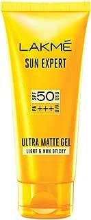 Lakmé Sun Expert SPF 50 PA+++ Ultra Matte Gel, 100 ml