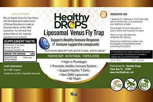 Liposomal Venus Fly Trap Extract Ormus