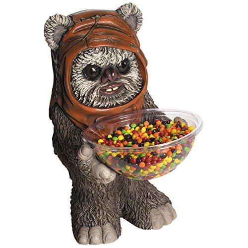 Star Wars Candy Bowl Holder Ewok/Süßigkeitenhalter aus Kunststoff
