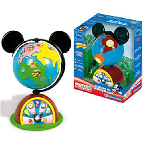 Clementoni Globo Interactivo Mickey Club